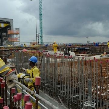 Confiança do empresário da construção tem primeira alta do ano