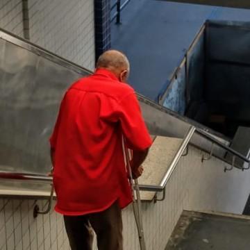 Terminais do Grande Recife estão com equipamentos de acessibilidade sem funcionar