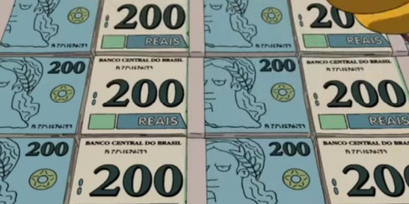 A nova nota de 200 reais é um dos assuntos mais falados na semana