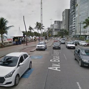 Vias de Boa Viagem recebem esquema especial de trânsito para garantir o acesso à praia