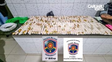 Homem é preso com materiais explosivos em Caruaru