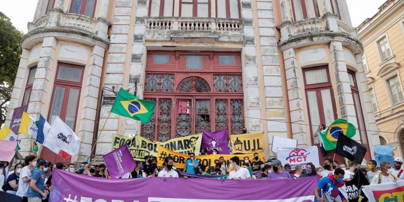 Coordenador do Movimento Brasil Livre (MBL) em Pernambuco, Izaque Costa, comenta sobre movimentações no fim de semana