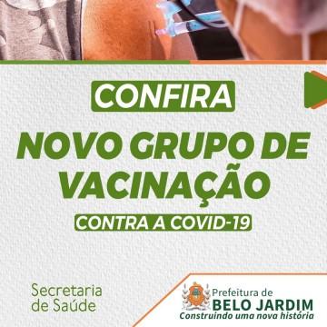 Prefeitura de Belo Jardim amplia vacinação contra a Covid-19 para novos grupos