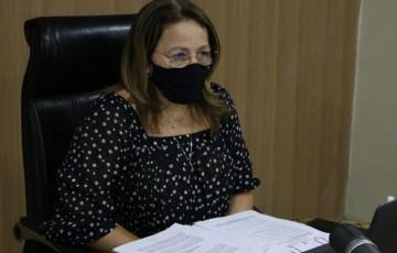 Vereadora Ana Lucia participou da plenária virtual da câmara do Recife, dessa vez, presidindo a sessão