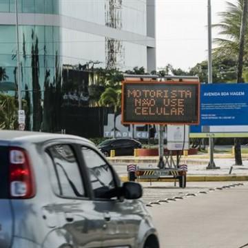 Painel móvel passa  a ser utilizado pela companhia de trânsito