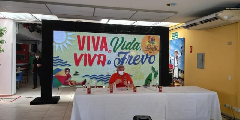 Menezes frisou que apesar da incerteza, a realização de um evento como o Galo da Madrugada, necessita de tempo de preparação, por isso os trabalhos já começaram