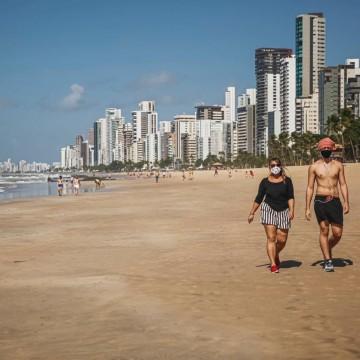 Praias e parques reabertos para prática de atividades físicas no Recife