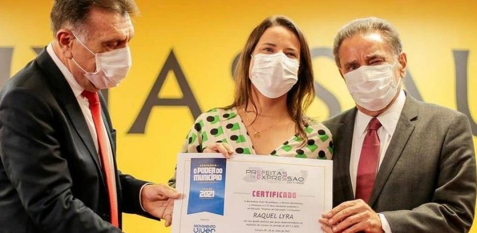 """Raquel Lyra é """"Prefeita de Expressão"""""""
