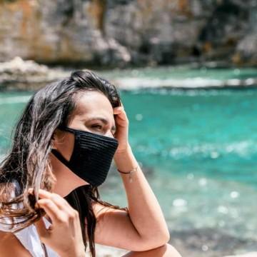 Campanha estadual alerta para uso da máscara em Fernando de Noronha