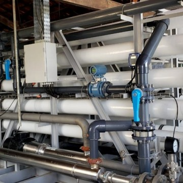 Fernando de Noronha ganha dessalinizador de água do mar