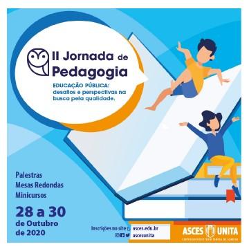 II Jornada de Pedagogia será realizada na Asces-Unita