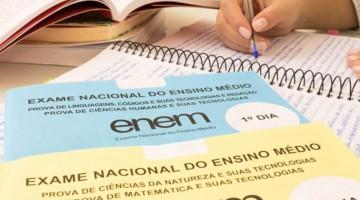 Inscrições do Enem irão começar no dia 30 de junho