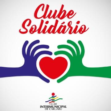 """Clube Intermunicipal promove campanha """"Clube Solidário"""" para arrecadação de alimentos"""