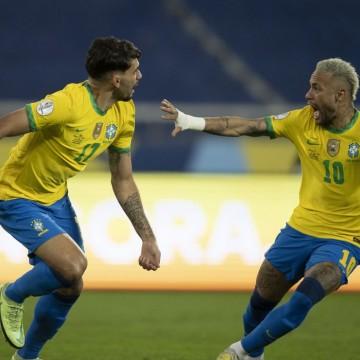 Copa América: Lucas Paquetá marca e Brasil vence Chile