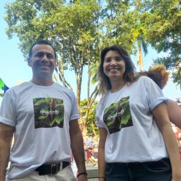 Ato no Recife alerta para queimadas na Amazônia