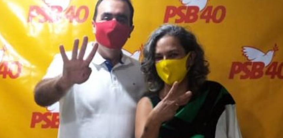 Ailza Trajano (PCdoB) é definida como vice do pré candidato a prefeito de Caruaru Marcelo Gomes (PSB)