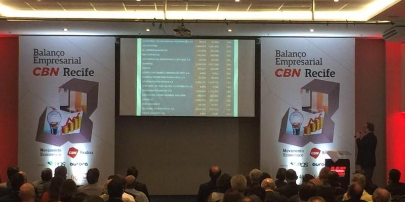 O evento é organizado pela CBN Recife em parceria com a plataforma Movimento Econômico
