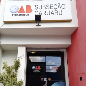 OAB Caruaru celebra seus 59 anos de existência