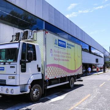 Mamógrafo móvel circula pelo Recife