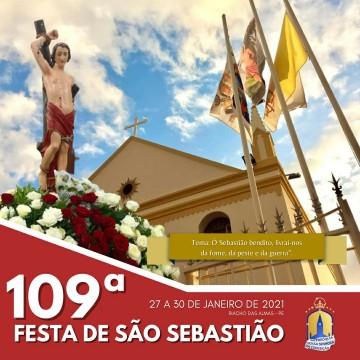 Comunidade católica e prefeitura de Riacho das Almas realizam 109ª festa de São Sebastião