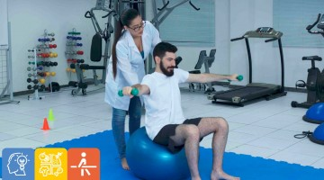 COVID-19: atendimento fisioterápico para pacientes que estão em recuperação é oferecido em Caruaru