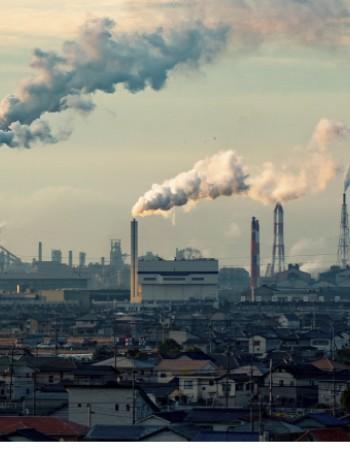 Poluição do ar gera problemas nas pessoas