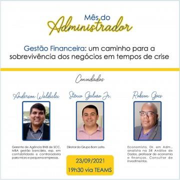Centro Universitáriopromove evento gratuito para comemorar o mês do Administrador