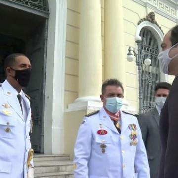 Passagem de comando da PMPE ocorre com participação do Governador Paulo Câmara