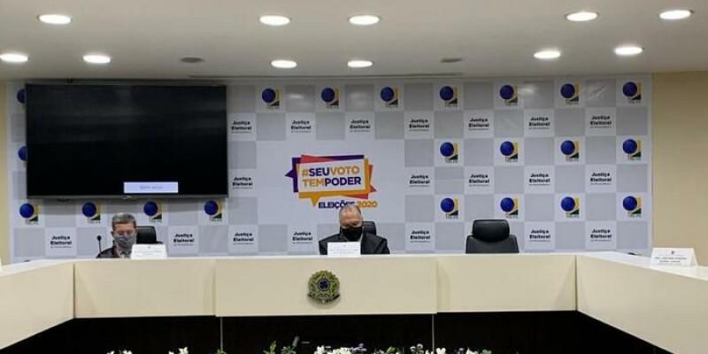 Durante solenidade de abertura, o desembargador Frederico Neves, também falou sobre a expectativa para o término da apuração dos votos