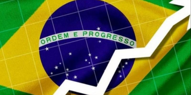 O principal destaque, foi o crescimento de 1,2% no PIB do Brasil