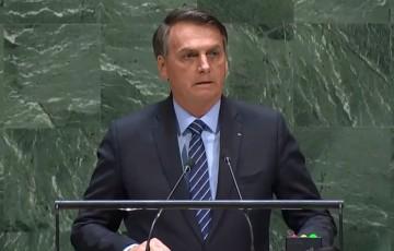 """Discurso não foi agressivo, foi objetivo"""", diz Bolsonaro à BAND"""