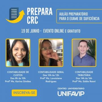 Centro Universitáriopromove aulão gratuito preparatório para o Exame de Suficiência