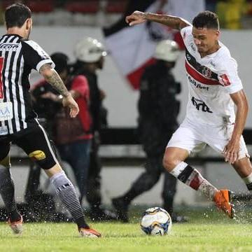 Com gol no último minuto, Santa arranca empate com o Botafogo/PB