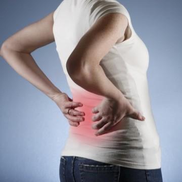 65% e 80% da população mundial desenvolve dor na coluna em alguma etapa de suas vidas