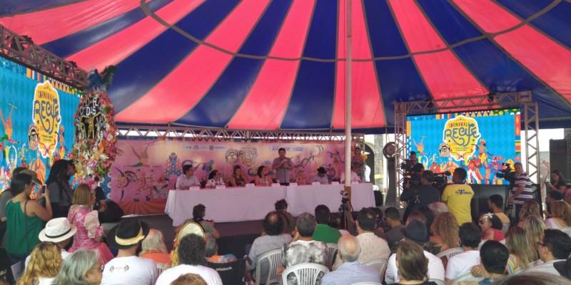 Serão 46 polos e mais de 2.700 atrações no carnaval da capital pernambucana
