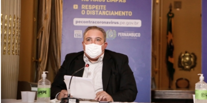 Secretário de Saúde de Pernambuco disse que o governo de Pernambuco formalizou o pedido de agilidade e tentam outras alternativas com a vacina Russa