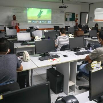 Secretaria Executiva de Trabalho, Qualificação e Empreendedorismo retoma aulas presenciais