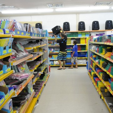 Pesquisa do IBGE revela que as vendas do comércio sobem 0,6% com volta às aulas em fevereiro