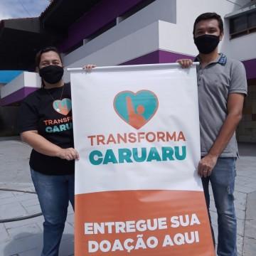 Transforma Caruaru e Mansão Forró renovam parceria para arrecadar alimentos