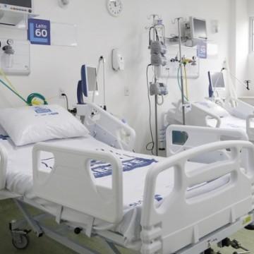 Número de internados em UTI nos hospitais de Pernambuco chega a 1.890