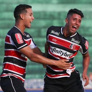 Santa Cruz goleia CSA-AL na Copa do Nordeste Sub-20
