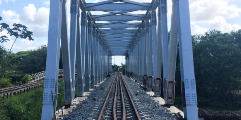 O motivo da paralisação é uma obra de desligamento da ferrovia da antiga ponte sobre o Rio Pirapama e posterior religamento da via na nova ponte construída pela CBTU Recife.