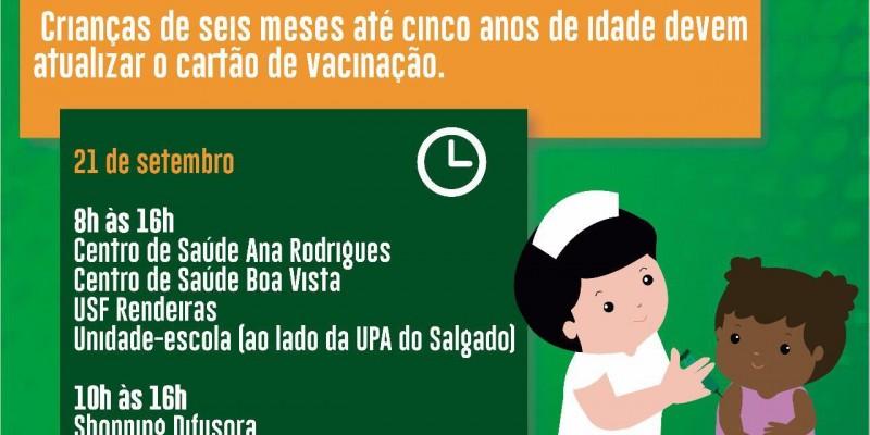 Ação acontece nos 32 municípios da IV Geres e tem foco na vacinação contra o sarampo