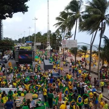 Grupo realiza ato no Recife contra lei de abuso de autoridade