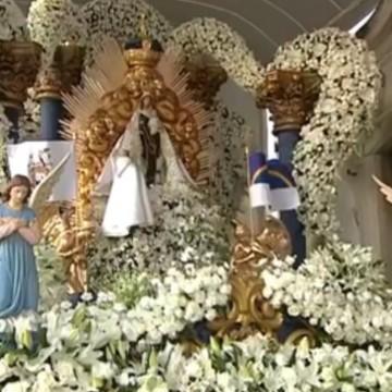 Encerramento das festividades dos 100 anos de coroação da padroeira do Recife, Nossa Senhora de Carmo