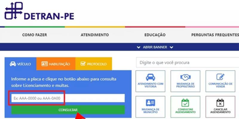 Condutores de veículos registrados em Pernambuco, com placas terminadas em 1 e 2, devem ficar atentos