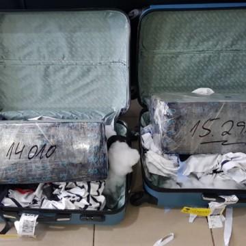 Mulher com 30 kg de maconha é presa em flagrante no Aeroporto do Recife