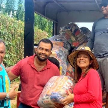 Doações de cestas básicas começam a chegar em Fernando de Noronha
