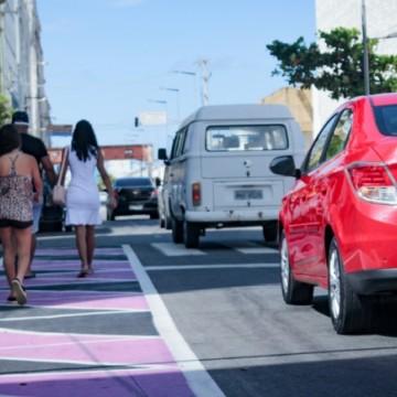 Nova área de trânsito calmo começa a operar no Recife