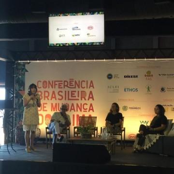 Desastre ambiental do litoral do NE é discutido na Conferência Brasileira de Mudança do Clima